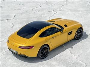 Mercedes-AMG GT 2015 вид сверху