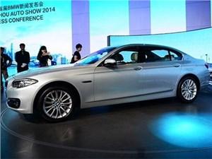 В Гуанчжоу дебютировал гибридный седан BMW 530Le