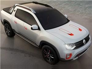 Предпросмотр renault duster oroch concept 2014 вид сверху спереди