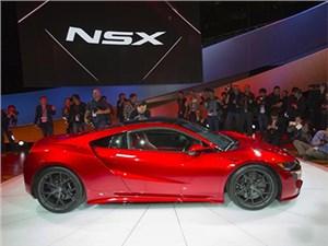 Новый Acura NSX с гибридной силовой установкой дебютировал в Детройте
