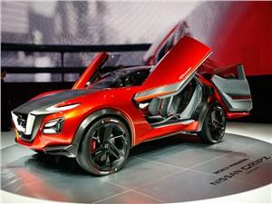 Концепт Nissan Gripz приводится в движение гибридной силовой установкой