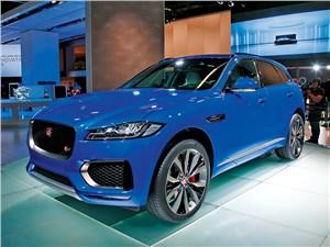 F-Pace – первый кроссовер Jaguar