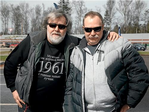 Петр Воронков («Своё радио») и Николай Ушанов (Classic & Sports Car)
