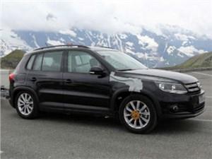 Volkswagen Tiguan нового поколения дебютирует уже осенью