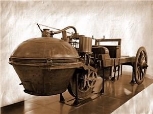 Паровая повозка Кюньо сегодня хранится в Консерватории искусств и ремесел в Париже
