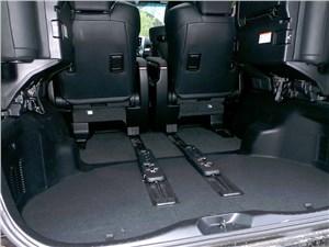 Toyota Alphard 2015 багажное отделение