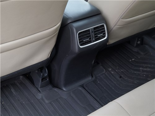 Honda CR-V 2015 пол в салоне