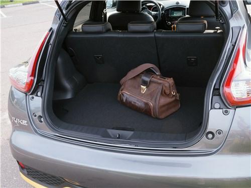 Предпросмотр nissan juke 2017 багажное отделение