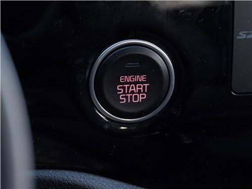 """Kia Rio X-Line 2017 кнопка """"старт-стоп"""""""