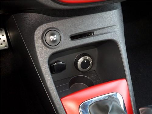 Renault Kaptur 2016 управление климатом