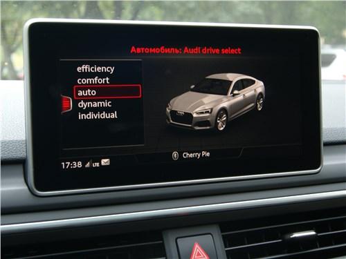 Audi A5 Sportback 2020 монитор