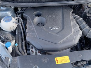 Chery Bonus 3 2014 двигатель