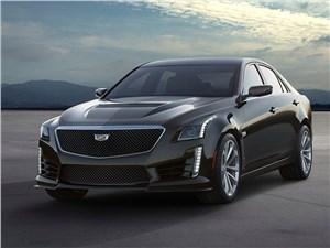 Cadillac CTS-V 2016 вид спереди