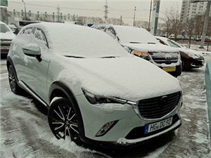 Mazda CX-3 нового поколения снова замечена на дорогах Москвы