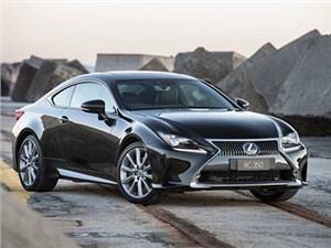 Купе Lexus RC получит новый турбированный двигатель