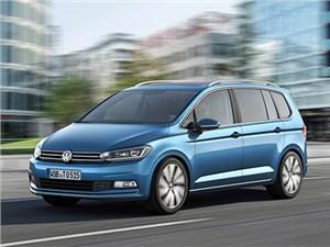 Volkswagen представил новое поколение компактвэна Touran
