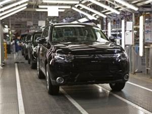 Производство Mitsubishi Outlander возобновится в Калуге