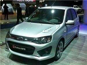Продажи спортивной версии Lada Kalina начнутся летом 2015 года