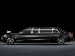 Mercedes-Benz S-Class Maybach Pullman - Mercedes-Benz S600 Pullman Maybach 2016 вид сбоку