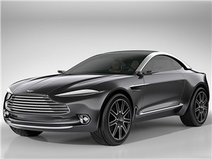 Предпросмотр aston martin dbx concept 2015 вид спереди