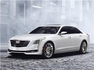 Cadillac CT6 2016 вид спереди