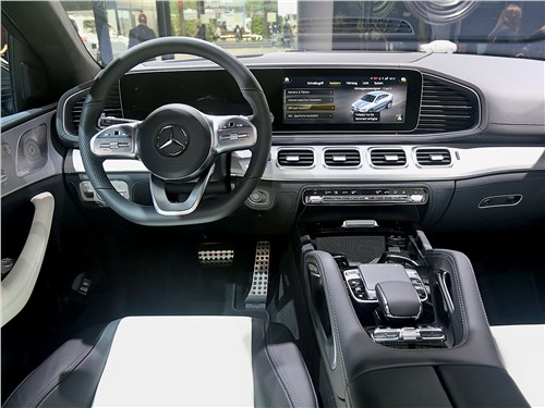 Mercedes-Benz GLE Coupe салон