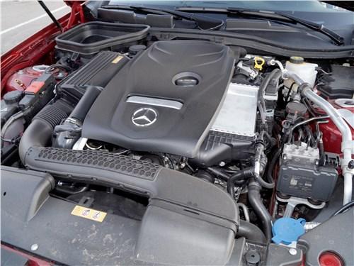 Mercedes-Benz SLC 2017 двигатель