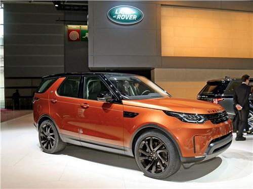 Парижский автосалон 2016 Land Rover Discovery