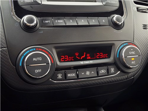 Kia Cerato 2016 климат-контроль