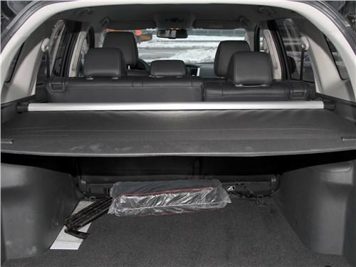 Mitsubishi Pajero Sport 2020 багажное отделение