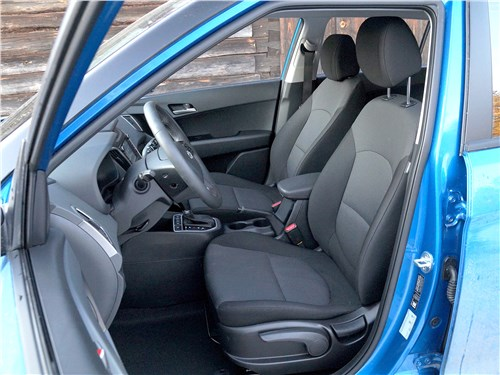 Hyundai Creta 2016 передние кресла