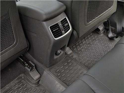 Hyundai Tucson 2019 второй ряд