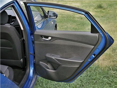 Hyundai Solaris 2020 дверь