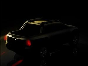 Предпросмотр renault sport utility pickup concept 2015 вид сзади