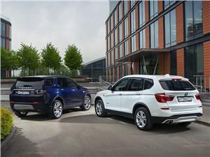 Сравнительный тест BMW X3 и Land Rover Discovery Sport