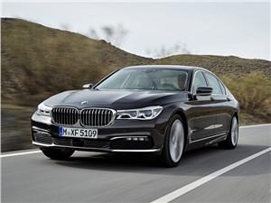 Больше не нужно 7 series - BMW 7-Series 2016 вид спереди