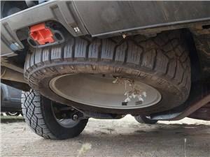 Land Rover Discovery 2014 запасное колесо