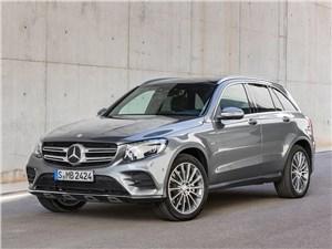 Mercedes-Benz GLC 2016 вид спереди