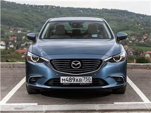 Середняки 6 - Mazda 6 2016 вид спереди