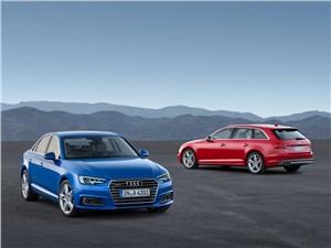Навстречу ветру (Peugeot 206 CC, Opel Astra Cabriolet, Audi A4 Cabriolet, BMW 6 Series Cabrio) A4 - Audi A4 и Audi A4 Avant 2016