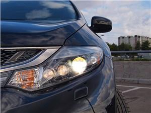Nissan Murano 2011 передняя фара