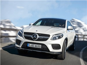 Mercedes-Benz GLE Coupe 2016 вид спереди