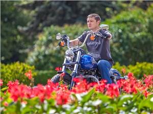 Harley-Davidson Street Bob 103 вид спереди