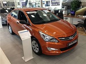 Hyundai Solaris снова обогнал российскую Lada Granta по количеству продаж