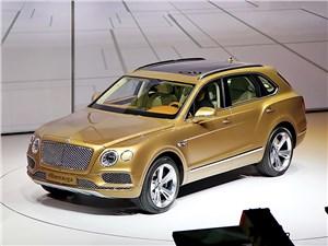 Первый тираж кроссовера Bentley Bentayga уже раскуплен