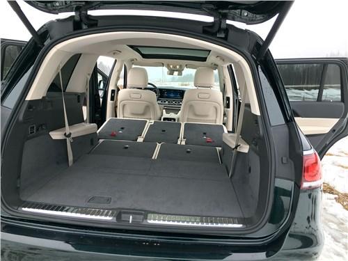 Mercedes-Benz GLS 2020 багажное отделение