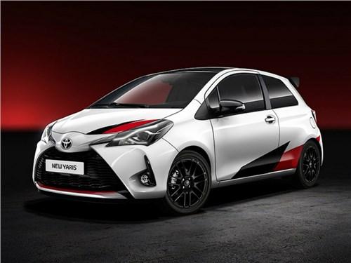 Новость про Toyota Yaris - Toyota рассекретила облик нового «горячего» хэтчбека Yaris