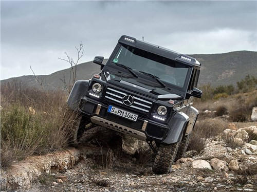 Новость про Mercedes-Benz G-Class - Mercedes-Benz G500 4x4