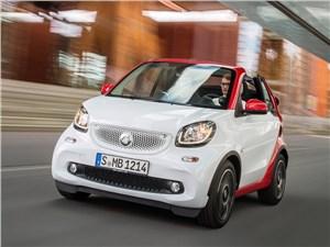 Предпросмотр smart fortwo cabrio 2016 вид спереди