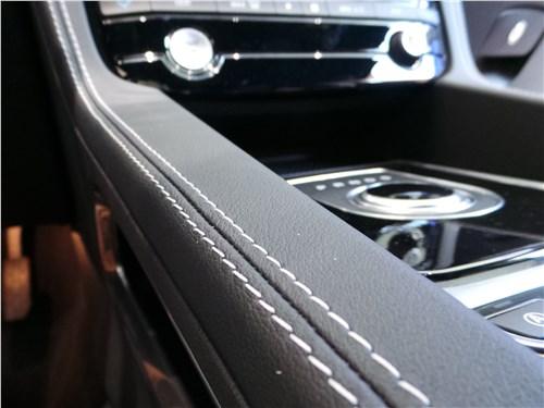 Jaguar F-Pace 2016 кожаная отделка